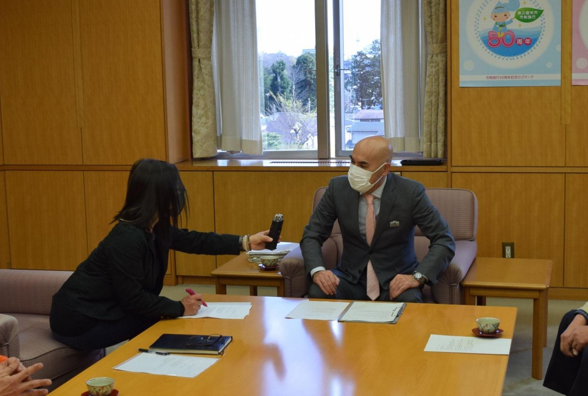 並木市長の「新型コロナウイルスに関するメッセージ」を放送します